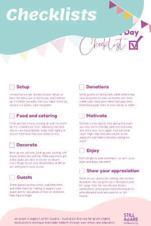 Host Your Own Checklists